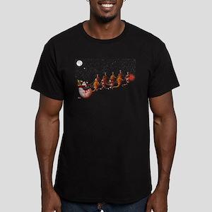 Santa and Seahorse Sleigh T-Shirt