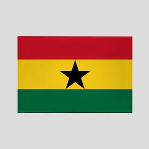 Flag of Ghana Rectangle Magnet