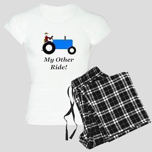 My Other Ride Blue Women's Light Pajamas