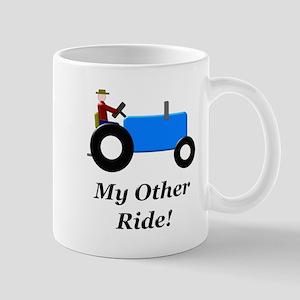 My Other Ride Blue Mug