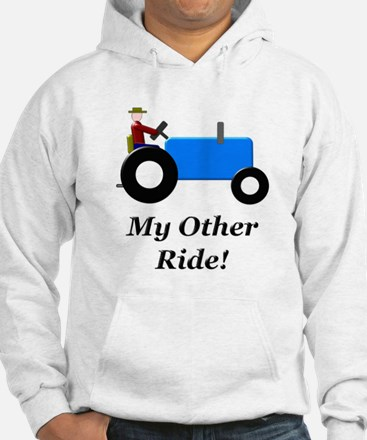 My Other Ride Blue Hoodie