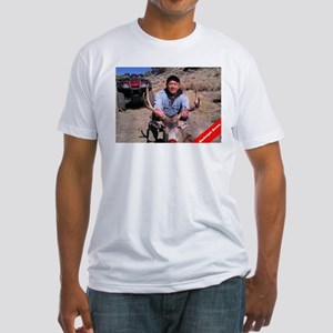 Rudolph Down Fitted T-Shirt