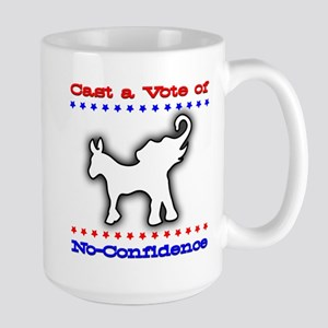 Cast a Vote of No-Confidence Over-sized Mug