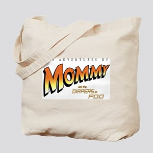 Mom Aventures of Poo - Tote Bag