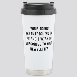 Your Ideas 16 oz Stainless Steel Travel Mug