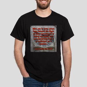 Men Are In Error - Leonardo da Vinci T-Shirt
