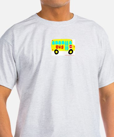Wee Bus! Ash Grey T-Shirt