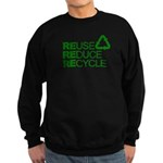 Reduce Reuse Reycle Sweatshirt (dark)