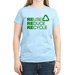 Reduce Reuse Reycle Women's Light T-Shirt