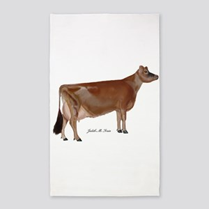 Jersey Cow 3'x5' Area Rug