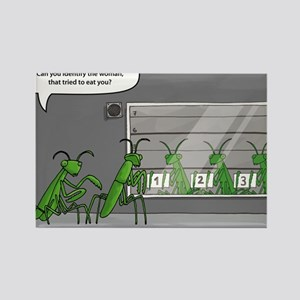 mantis identification Rectangle Magnet