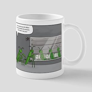 mantis identification Mug