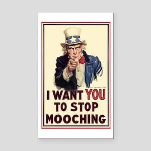 Uncle Sam I want YOU Rectangle Car Magnet