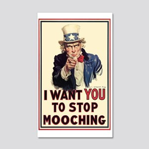 Uncle Sam I want YOU 20x12 Wall Decal