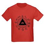 Horoscope Zodiac Kids Dark T-Shirt