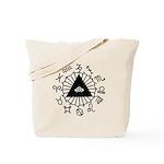 Horoscope Zodiac Tote Bag