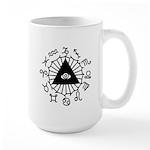 Horoscope Zodiac Large Mug