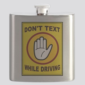 DON'T TEXT AND DRIVE Flask