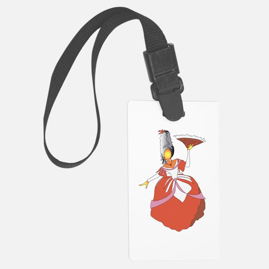 The Holiday Victorian Luggage Tag