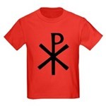 Chi Rho (XP Christogram) Kids Dark T-Shirt