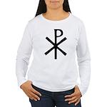 Chi Rho (XP Christogram) Women's Long Sleeve T-Shi