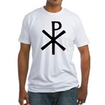 Chi Rho (XP Christogram) Fitted T-Shirt