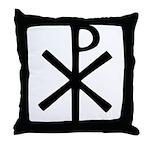 Chi Rho (XP Christogram) Throw Pillow