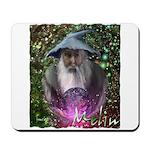 merlin the magician art illustration Mousepad