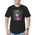 merlin the magician art illustration Men's Fitted
