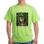 merlin the magician art illustration Green T-Shirt