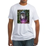 merlin the magician art illustration Fitted T-Shir
