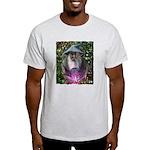 merlin the magician art illustration Light T-Shirt