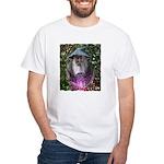 merlin the magician art illustration White T-Shirt