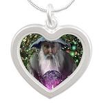 merlin the magician art illustration Silver Heart