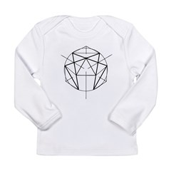 Enneagram Long Sleeve Infant T-Shirt