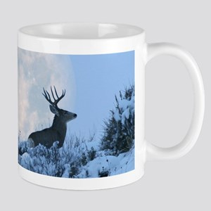 Buck deer moon Mug