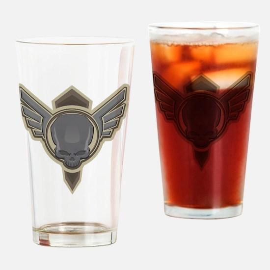 Unique Retro game Drinking Glass