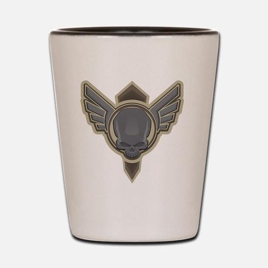 Cool Wings Shot Glass