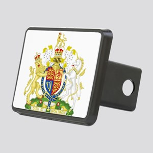 Royal COA of UK Rectangular Hitch Cover