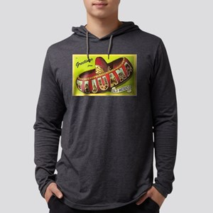 Greetings from Tijuana, Mexico Mens Hooded Shirt