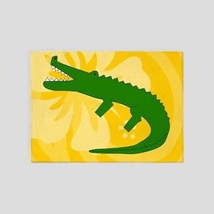 Alligator 5'x7'Area Rug
