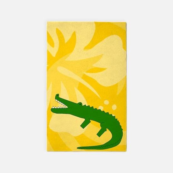 Alligator 3'x5' Area Rug