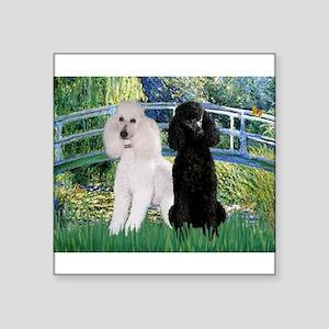 Bridge & Poodle Pair Sticker