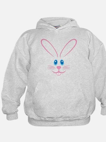Pink Bunny Face Hoody