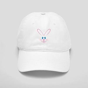 Pink Bunny Face Cap