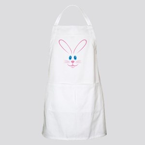 Pink Bunny Face Apron