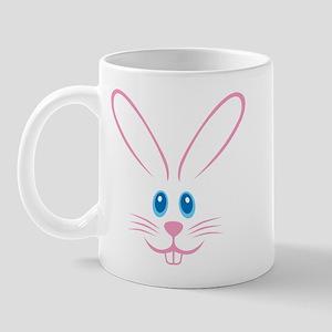 Pink Bunny Face Mug