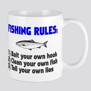 Fishing Rules Mug
