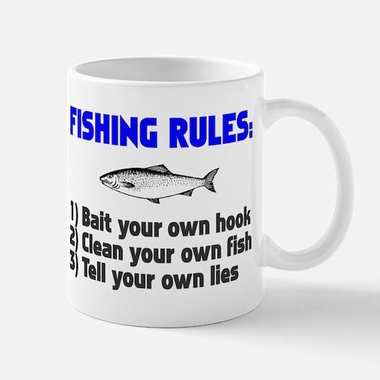 Fishing Rules Mug