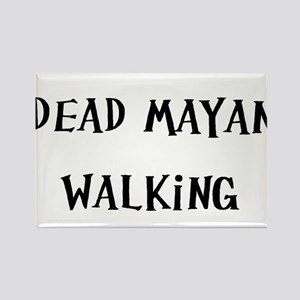 Dead Man Walking (nd) Rectangle Magnet